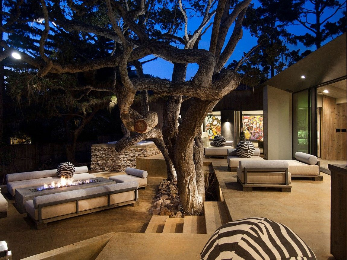Pebble Beach Residence Conrad Design Group