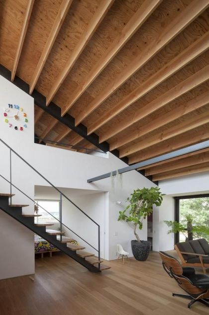 Roof with great views Naoi Architecture & Design Office