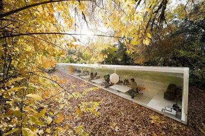 Studio in the woods in Madrid #architecture #office #minihouse
