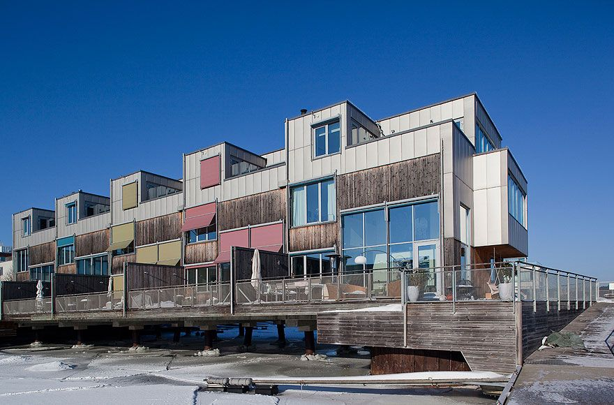 Splendid Triplex Apartment over the Water in Sweden Sandellsandberg Architects