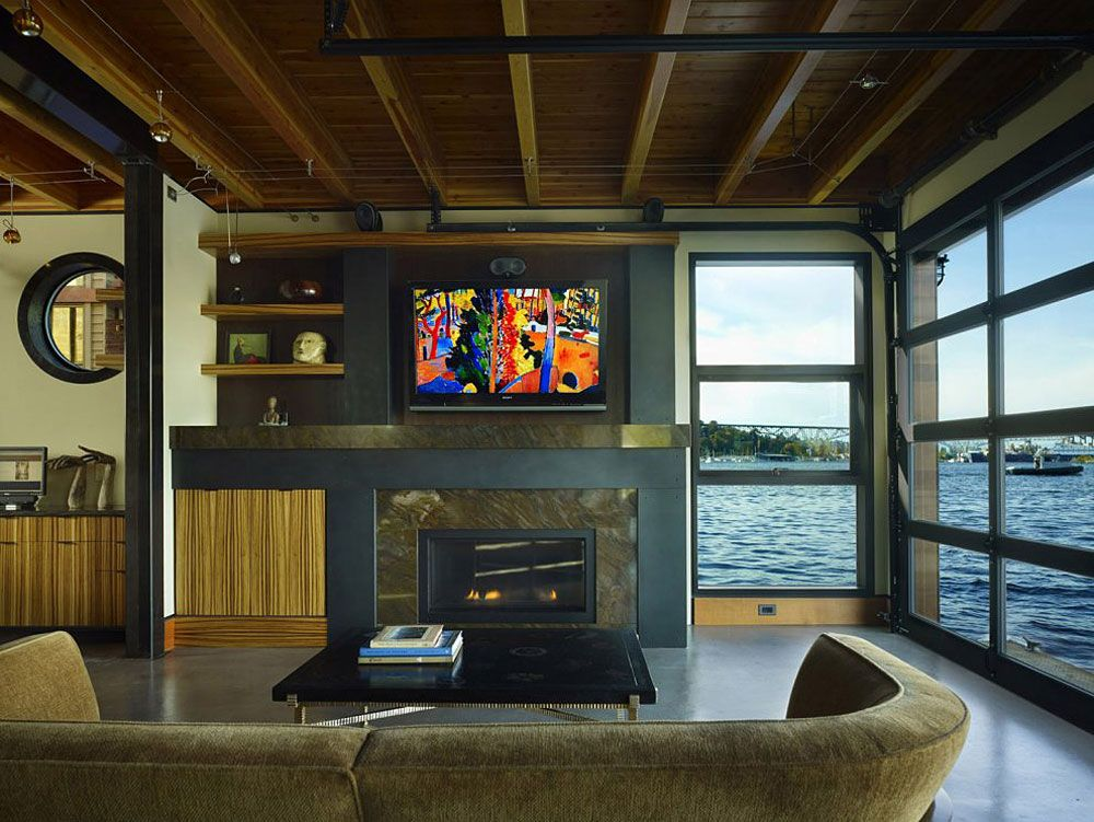 Lake Union Float Home Designs Northwest Architects