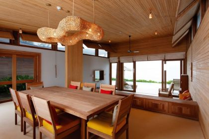 Six Senses Con Dao Resort #interiors #hotel #livingroom #diningroom