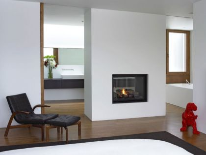 Upstate New York Residence #interiors #fireplace