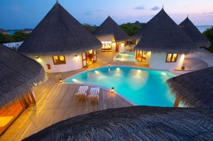 Island Hideaway at Dhonakulhi Maldives, Spa Resort & Marina #pool #terrace