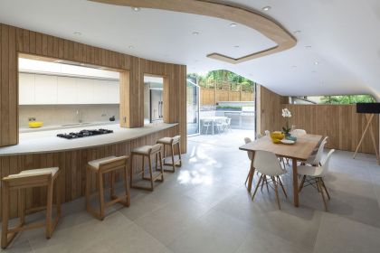 De Beauvoir Road #interiors #kitchen #diningroom