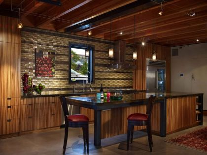 Lake Union Float Home #interiors #kitchen