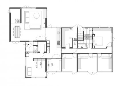Rietveld Bungalow #ground-plan