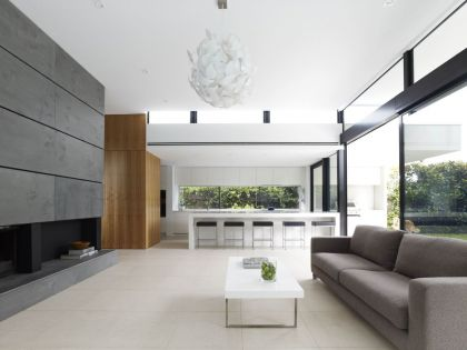 Good Residence in Melbourne #interiors #livingroom