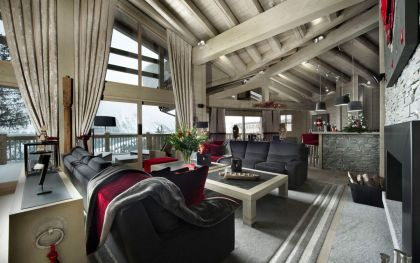Chalet Baltoro | HomeDSGN, a daily source for inspiration and fresh ideas on interior design and home decoration. in Courchevel, France