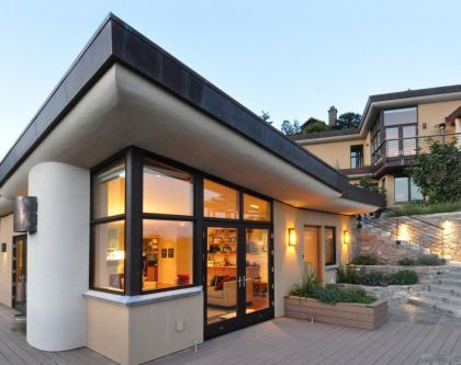 Mill Valley Hillside #architecture #terrace