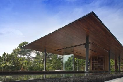 The Water-Cooled House Wallflower Architecture + Design
