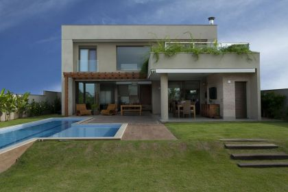 Residencia DF #architecture #pool #garden #terrace