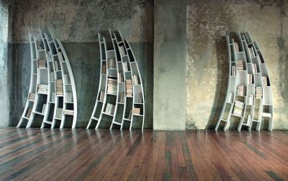 Primo Quarto: Sculptural Bookcase #product #furniture #shelf