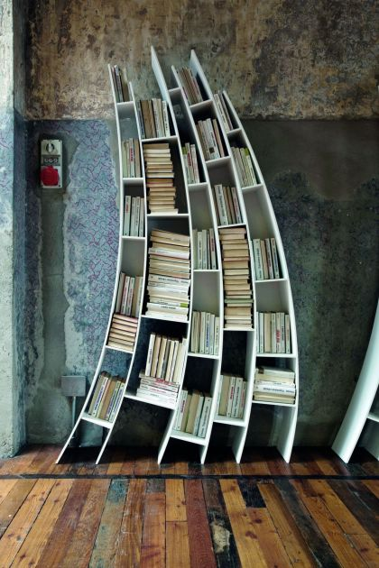 Primo Quarto: Sculptural Bookcase