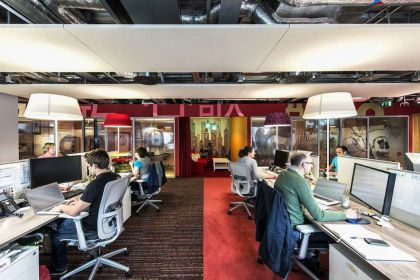 The Google Dublin Campus #interiors #office