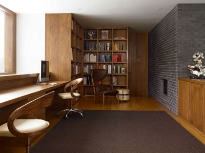 Upstate New York Residence #interiors #office #shelf