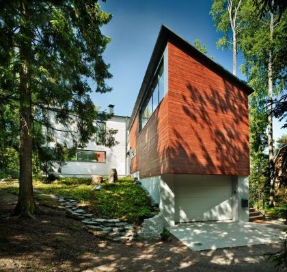 Villa Q in Finland #garage