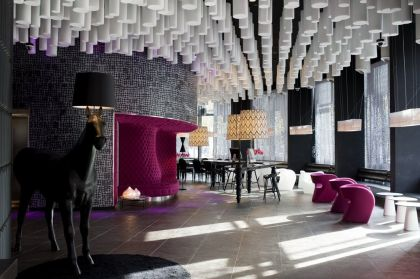 Hotel Barceló Raval #interiors #hotel