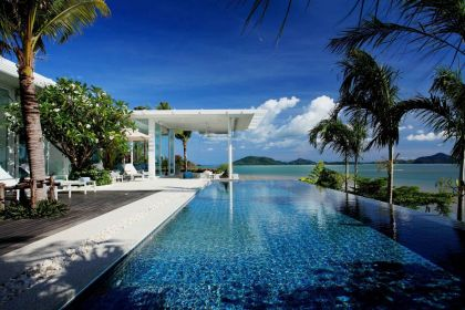 Oceanfront Villa of Modern Homes Worldwide