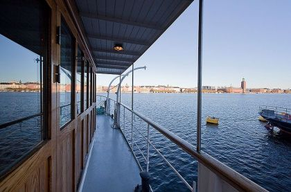 Stunning Barge Conversion in Stockholm