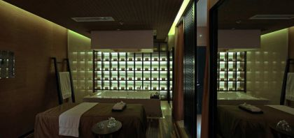Qing Shui Wan Spa Hotel #interiors #bedroom