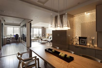 Apartment With A Retractable Interior Wall Fertility Design