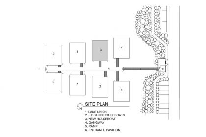 Lake Union Float Home #ground-plan