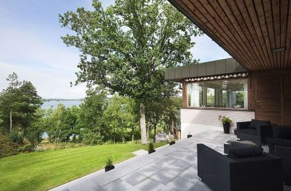 Lakeside Villa in Danderyd Rahel Belatchew Lerdell