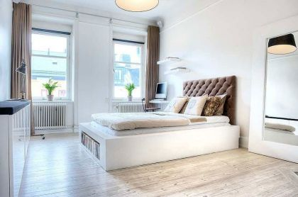 Scandinavian Design: Bright One Bedroom Pad in Central Stockholm in Central Stockholm