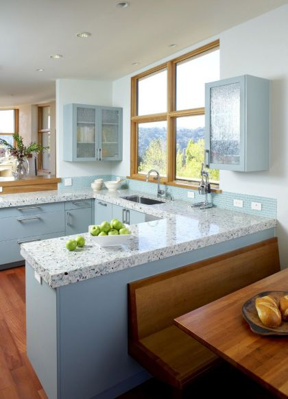 Mill Valley Hillside #interiors #kitchen