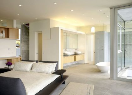 Oakland House #interiors #bedroom #bathroom