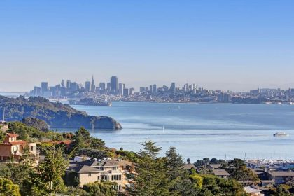 Spectacular Views of San Fran from Tiburon