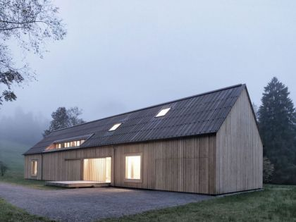 Haus am Moor Bernardo Bader Architects