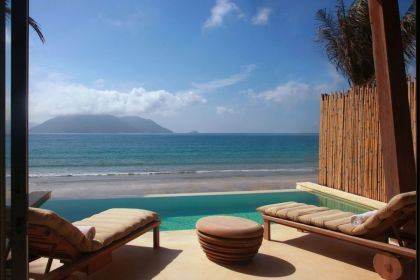 Six Senses Con Dao Resort #pool #terrace