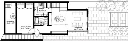 H House #ground-plan