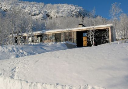 Contemporary Mountain Lodge