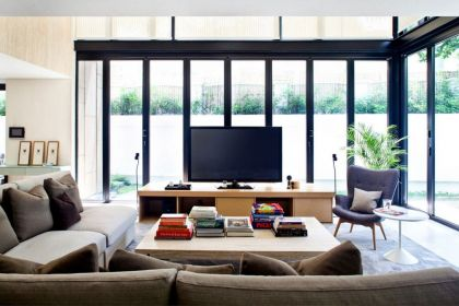 One Tree Hill #interiors #modern #livingroom