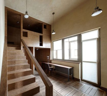 Multi-Level Apartment #stairs