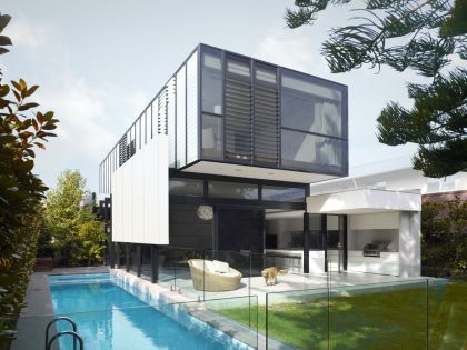 Good Residence in Melbourne #architecture #pool #garden #terrace