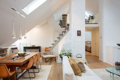 Scandinavian Design: A Bright Loft