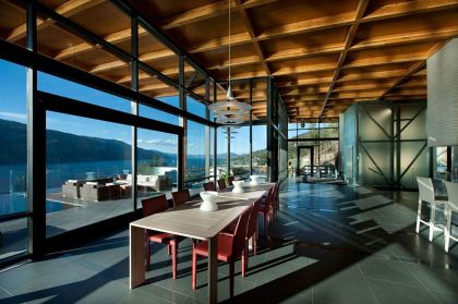 Custom Private Home in British Columbia David Tyrell Architecture