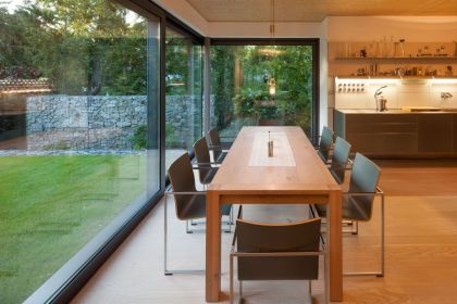 Villa Wiese #interiors #kitchen #diningroom