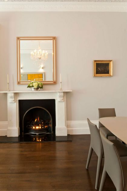 Redcliffe Gardens #fireplace