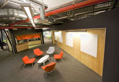 Skype's North American Headquarters in Palo Alto #interiors #office