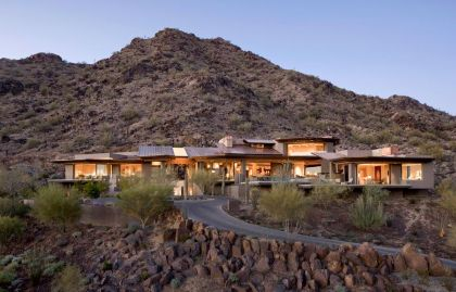 Home in Paradise Valley Swaback Partners and David Michael Mille