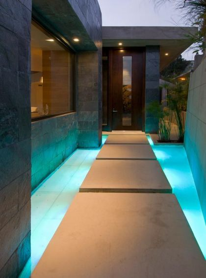 Blue Jay Residence Interior #entrance
