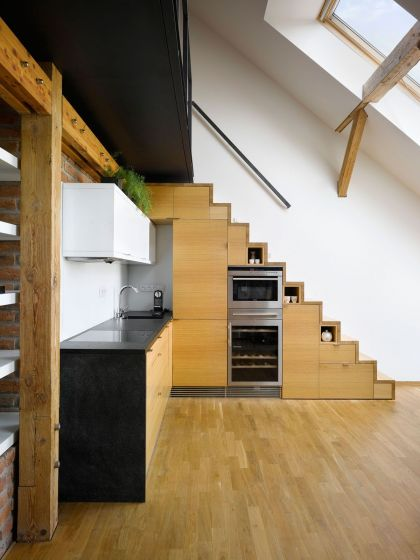 Loft on Terronská #interiors #kitchen