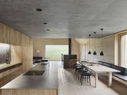 Haus am Moor #interiors #kitchen #diningroom
