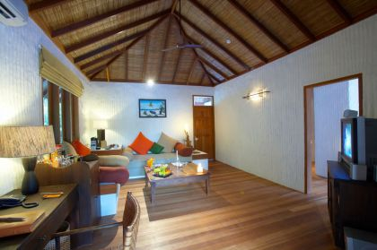 Island Hideaway at Dhonakulhi Maldives, Spa Resort & Marina #interiors #hotel