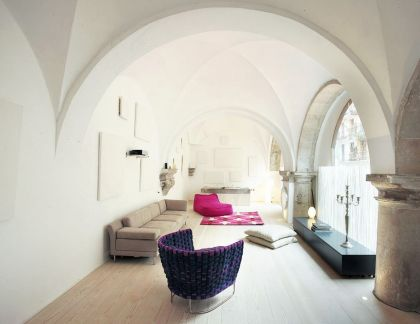 Stunning 500-Year-Old Cloister Conversion In Barcelona